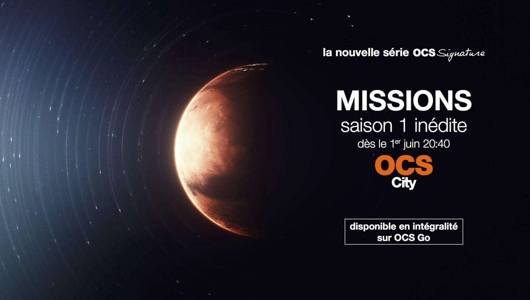 Missions saison 1 affiche