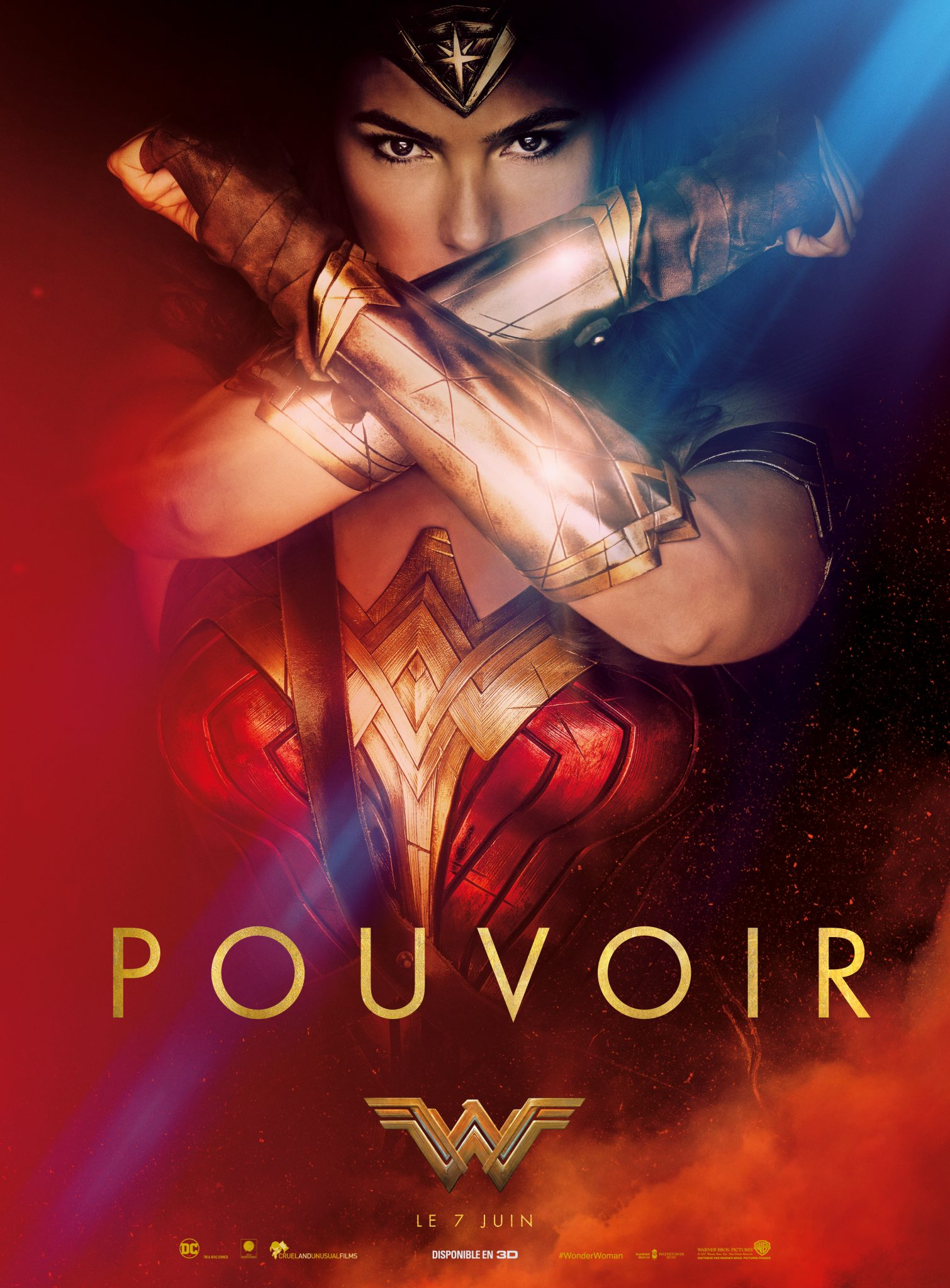 Wonder Woman affiche film