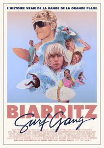 AFFICHE BIARRITZ SURF GANG
