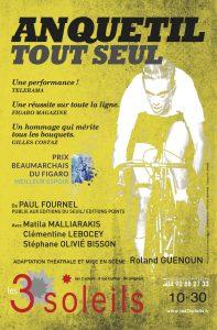 Anquetil tout seul Avignon le Off 2017