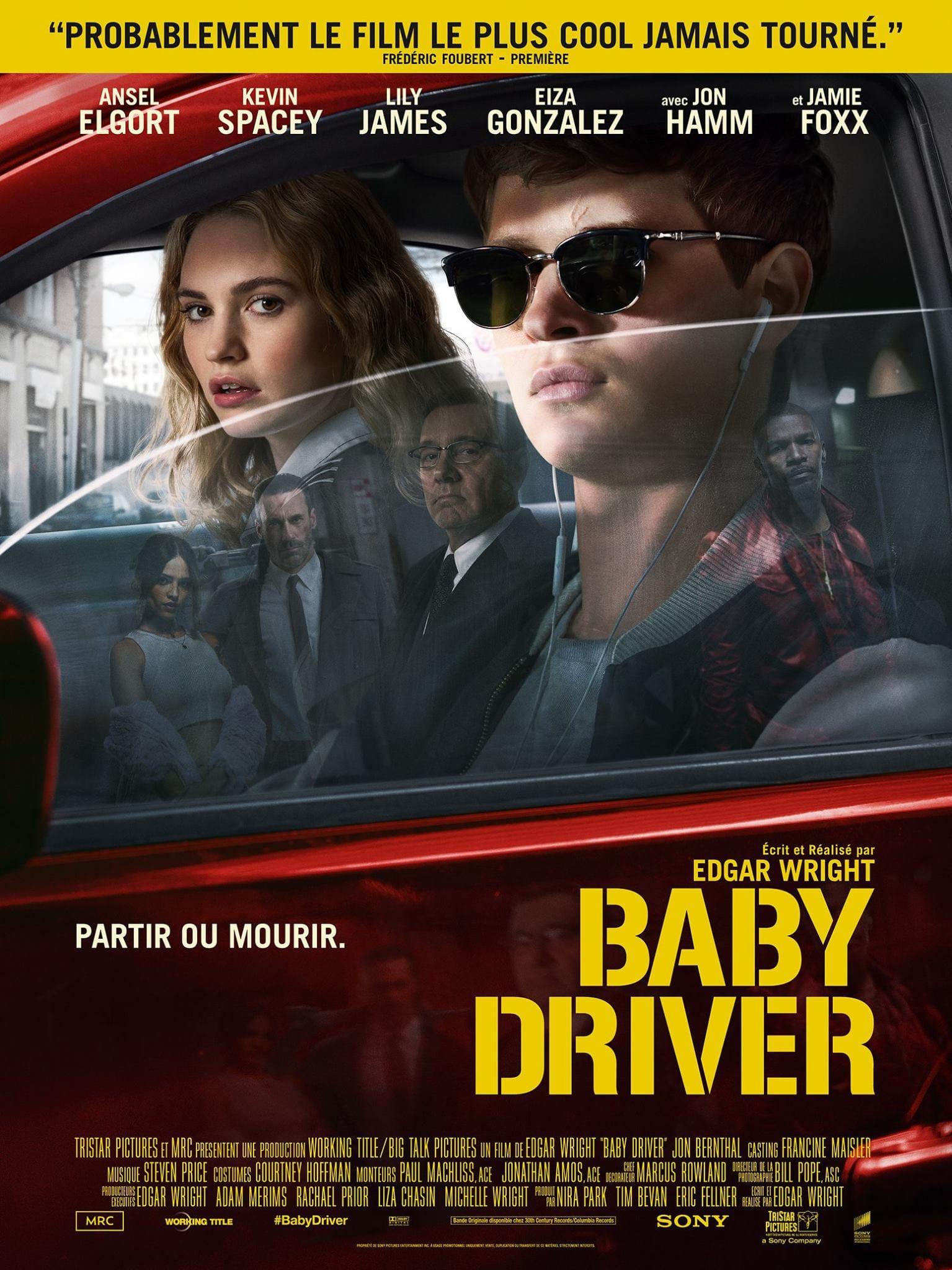 """Critique / """"Baby Driver"""" (2017) : Edgar Wright à 200 à l'heure ! 2 image"""