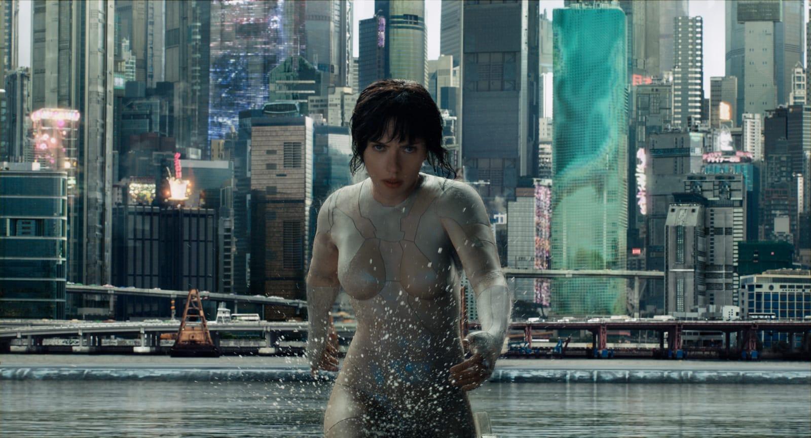 Ghost in the Shell Rupert Sanders image Scarlett Johansson