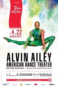 Les Etés de la Danse 2017 LEDLD 2017 AFFICHE