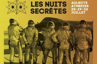 Les Nuits Secrètes 2017 affiche