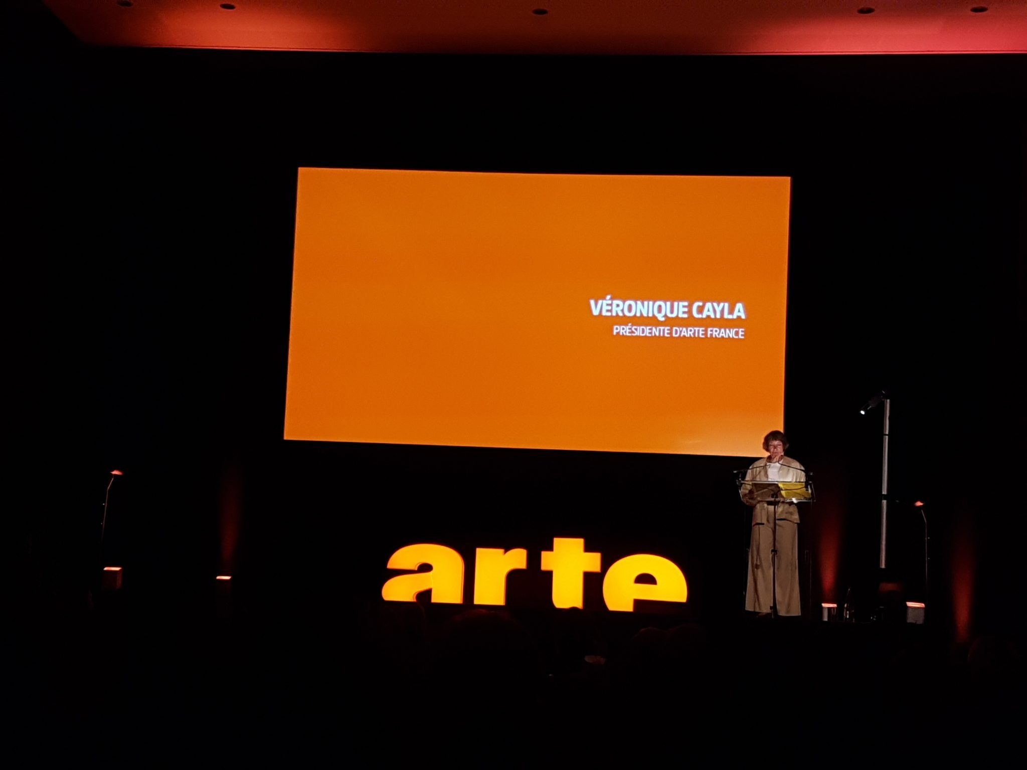 ARTE rentrée 2017 image Véronique Cayla