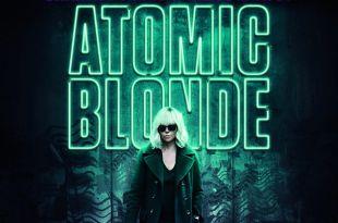 Atomic Blonde Charlize Theron affiche film avis