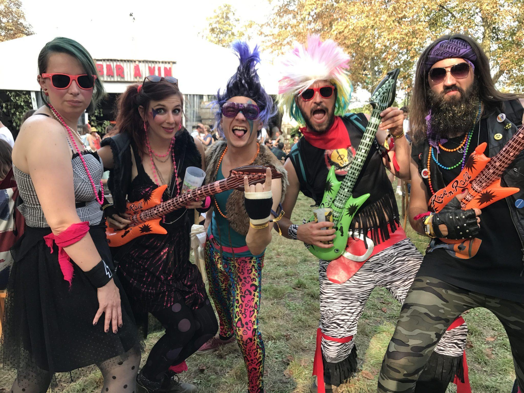 Rock en Seine 2017 image En mode punk rock