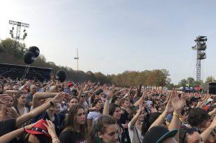 Rock en Seine 2017 image Foule