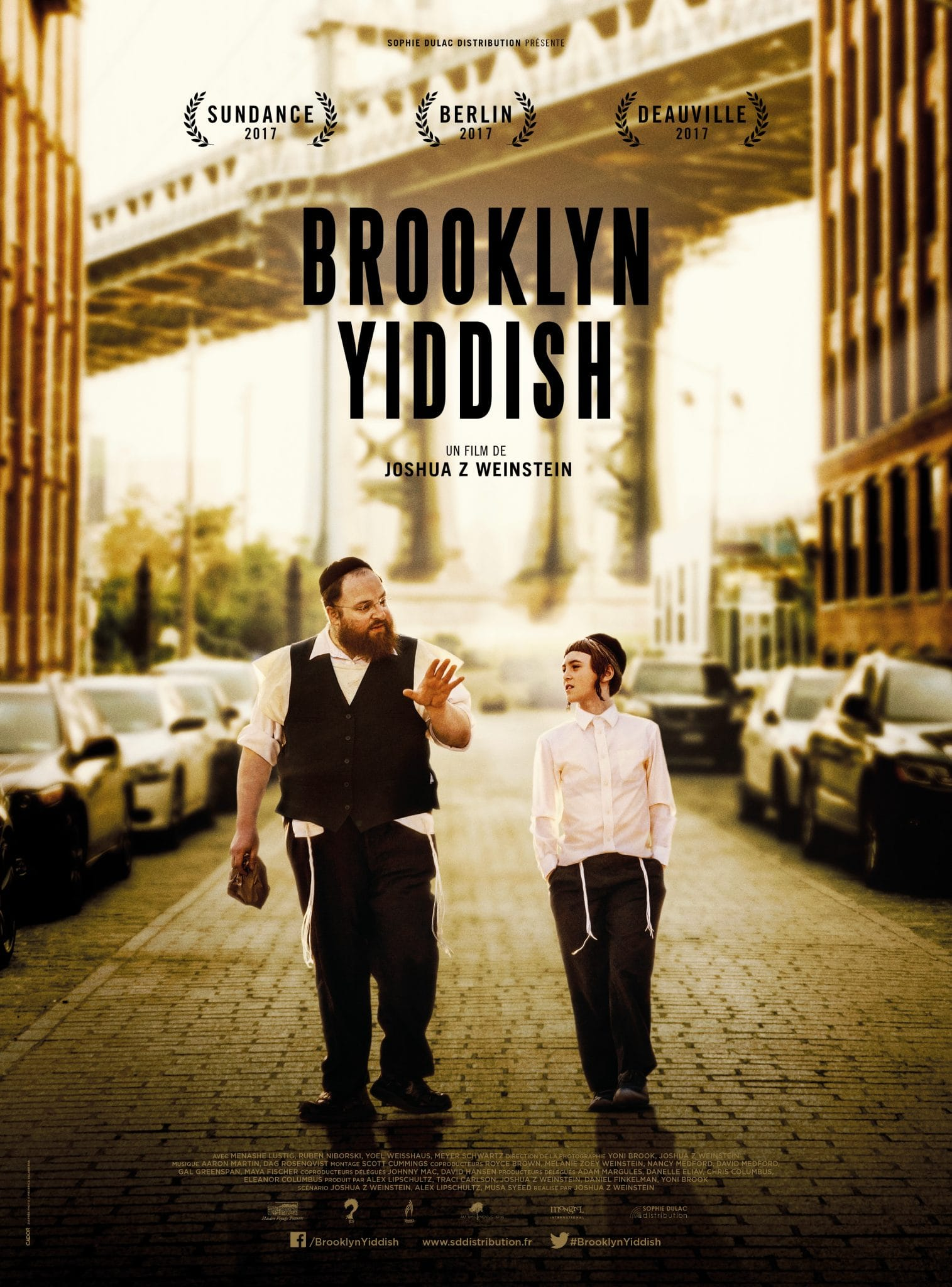 Affiche film critique Brooklyn Yiddish