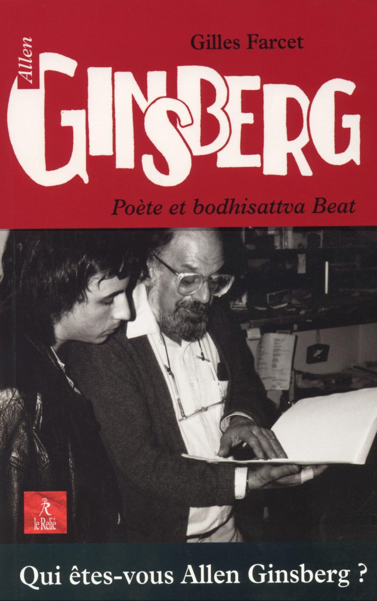 Allen Ginsberg, Poète et bodhisattva Beat Gilles Farcet image couverture