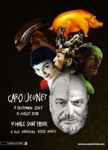exposition Caro Jeunet La Halle Saint Pierre affiche