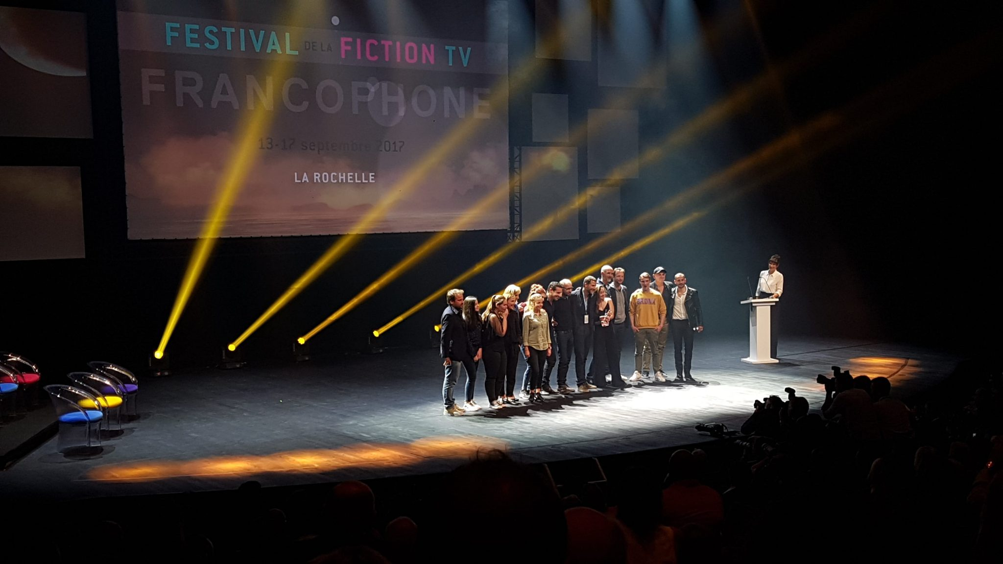 festival de la fiction tv de la rochelle 2017 image Hollyweed