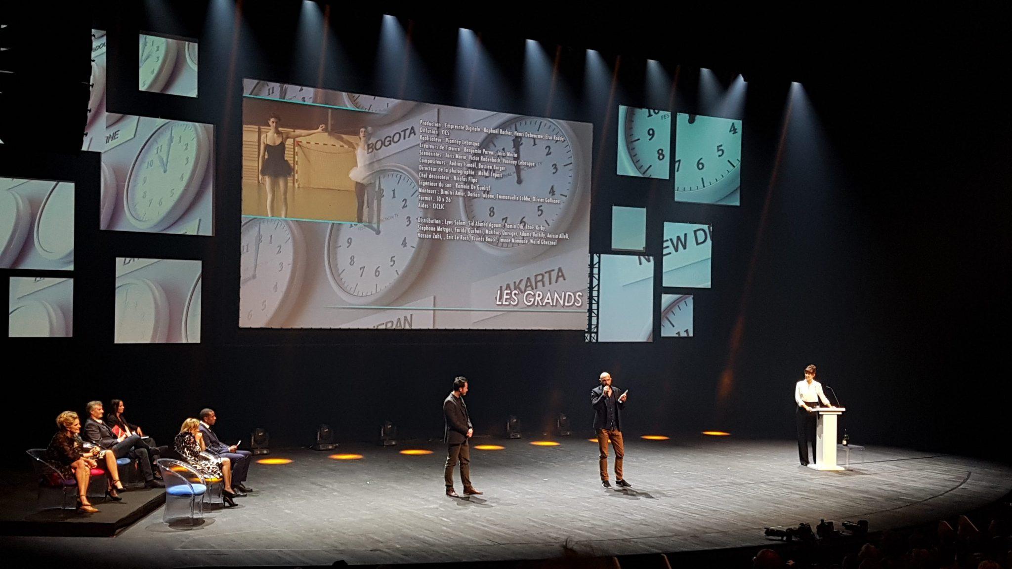 festival de la fiction tv de la rochelle 2017 image Les Grands