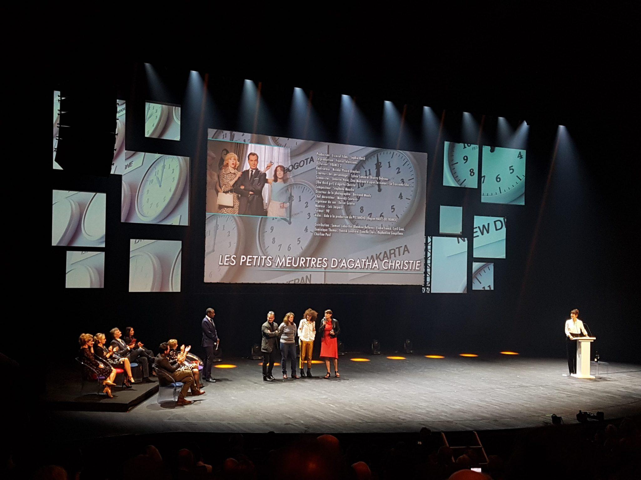 festival de la fiction tv de la rochelle 2017 image Les Petits Meurtres d'Agatha Christie