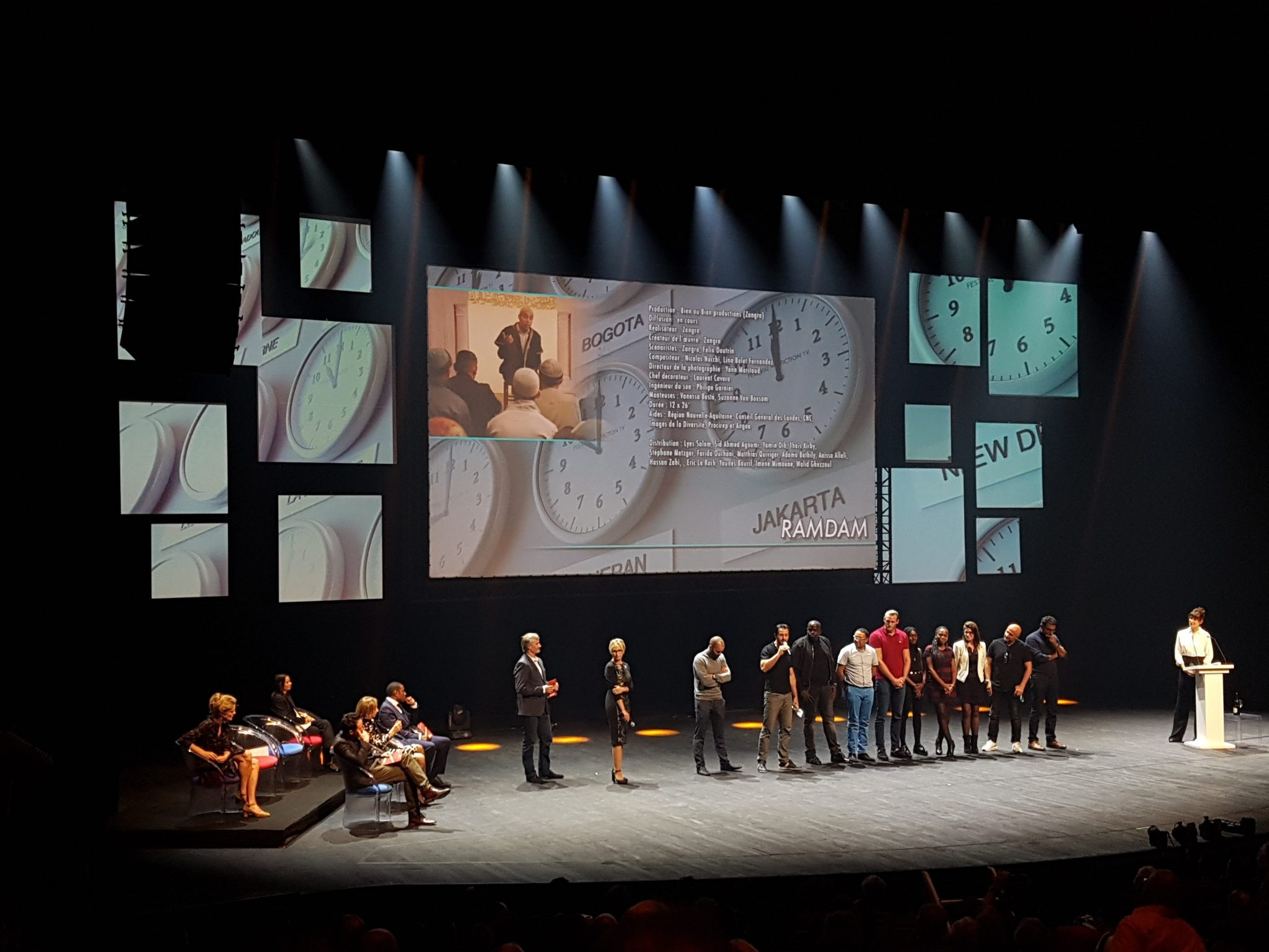 festival de la fiction tv de la rochelle 2017 image Ramdam