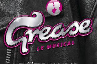 Grease Le Musical affiche théâtre Mogador