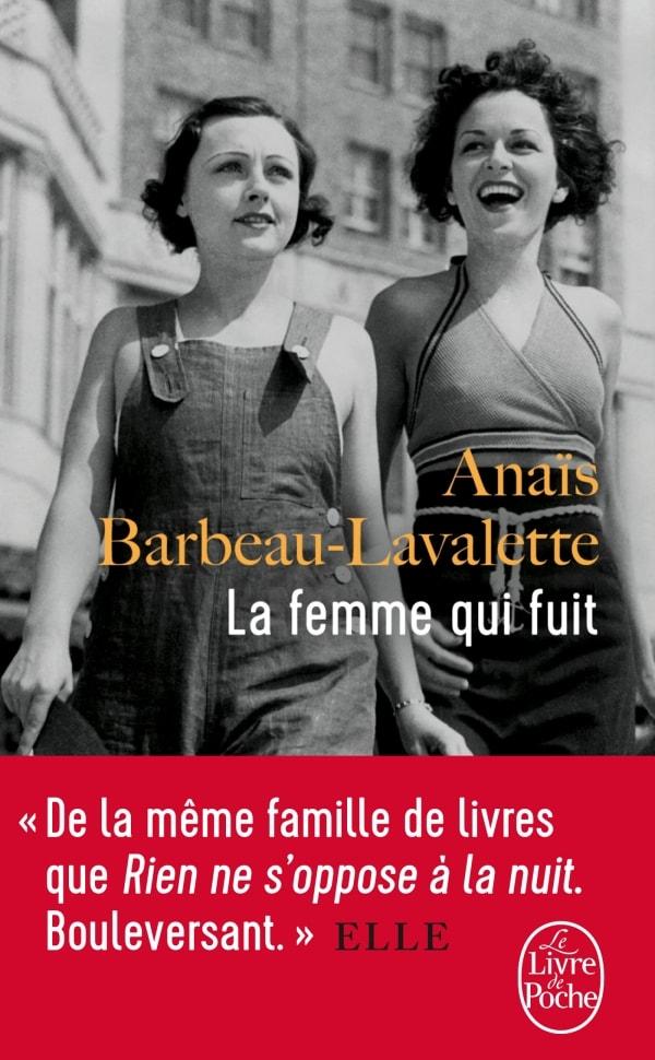 La Femme qui fuit Anaïs Barbeau-Lavalette image couverture