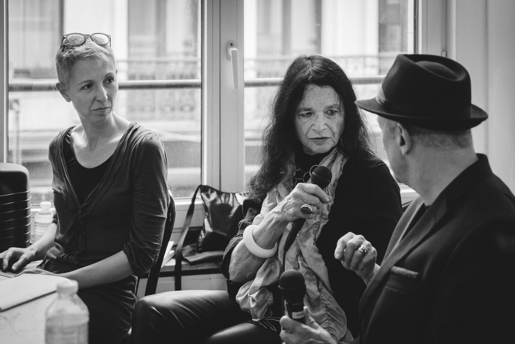 La Joie qui avance chancelante le long de la rue image GILLES FARCET et Anne Waldman (c) John Sellekaers fiEstival maelstrÖm reEvolution 2017 01