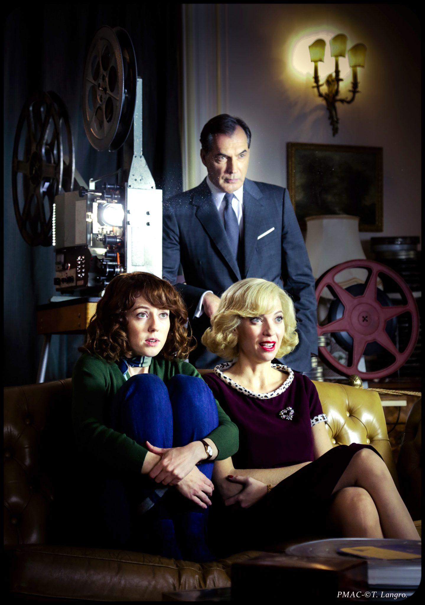 Les Petits Meurtres d'Agatha Christie épisode Le Miroir se brisa image