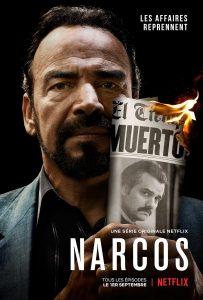 narcos saison 3 affiche