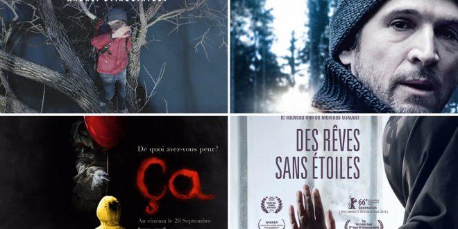 cinéma du mercredi 20 septembre 2017 imageFaute d'amour, Mon Garçon, Des rêves sans étoiles et Ça