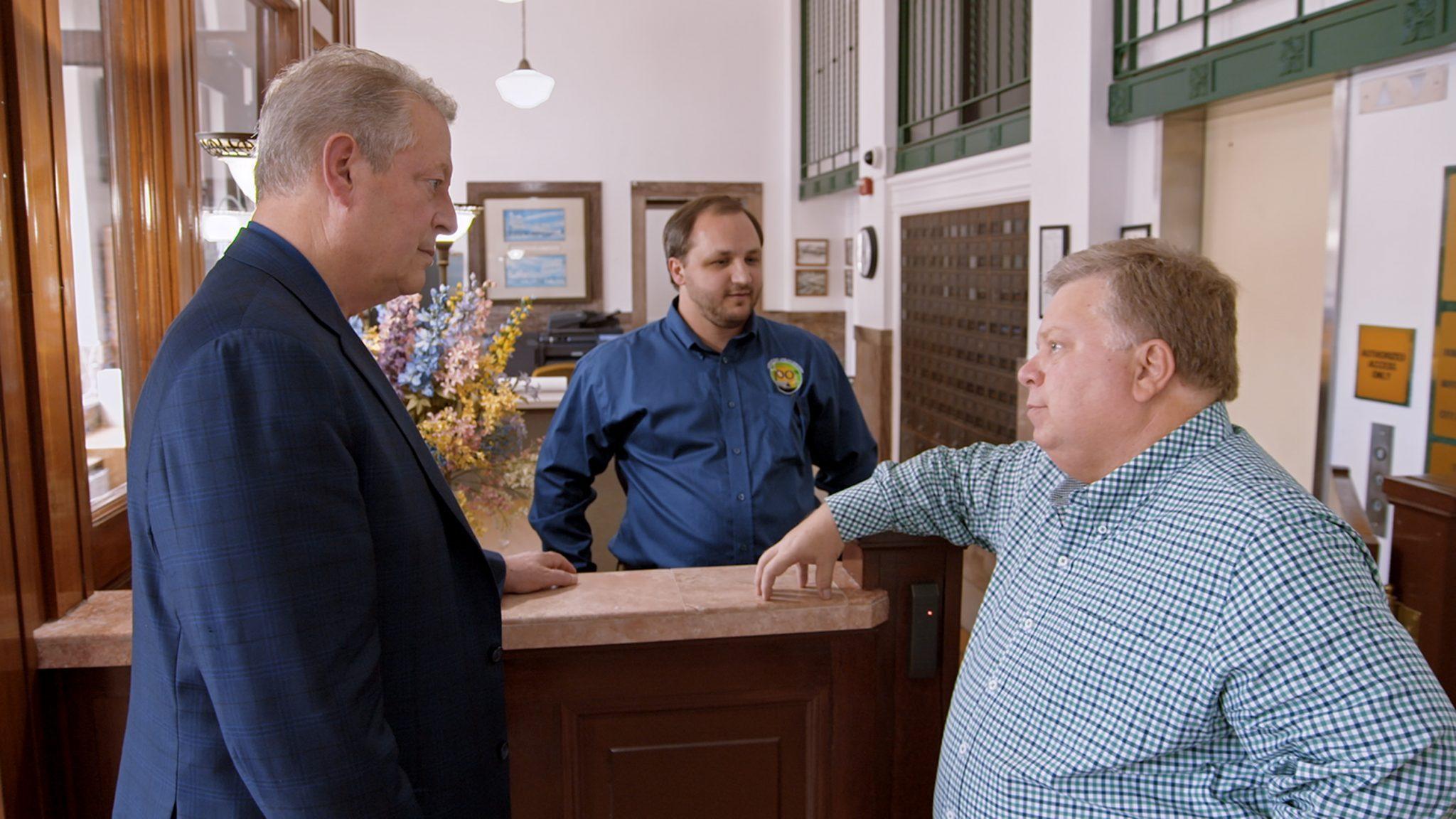 Une suite qui dérange critique film Al Gore