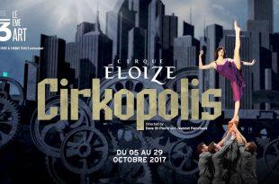 Affiche Cirkipolis théâtre