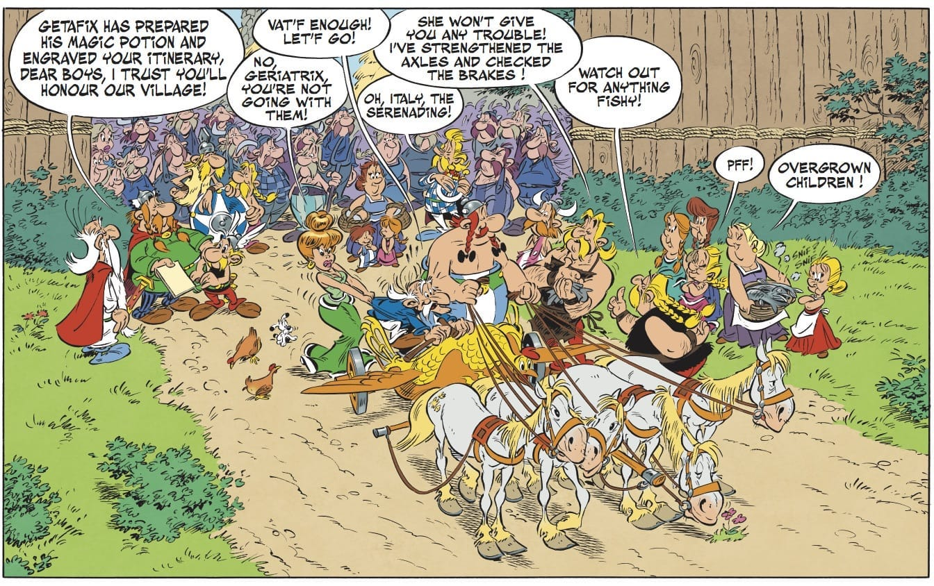 Asterix and the Chariot Race image 1