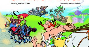 Asterix and the Chariot Race image cover album