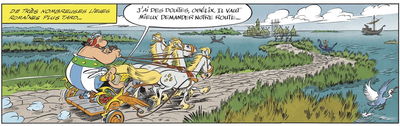 Asterix and the Chariot Race image strip 2