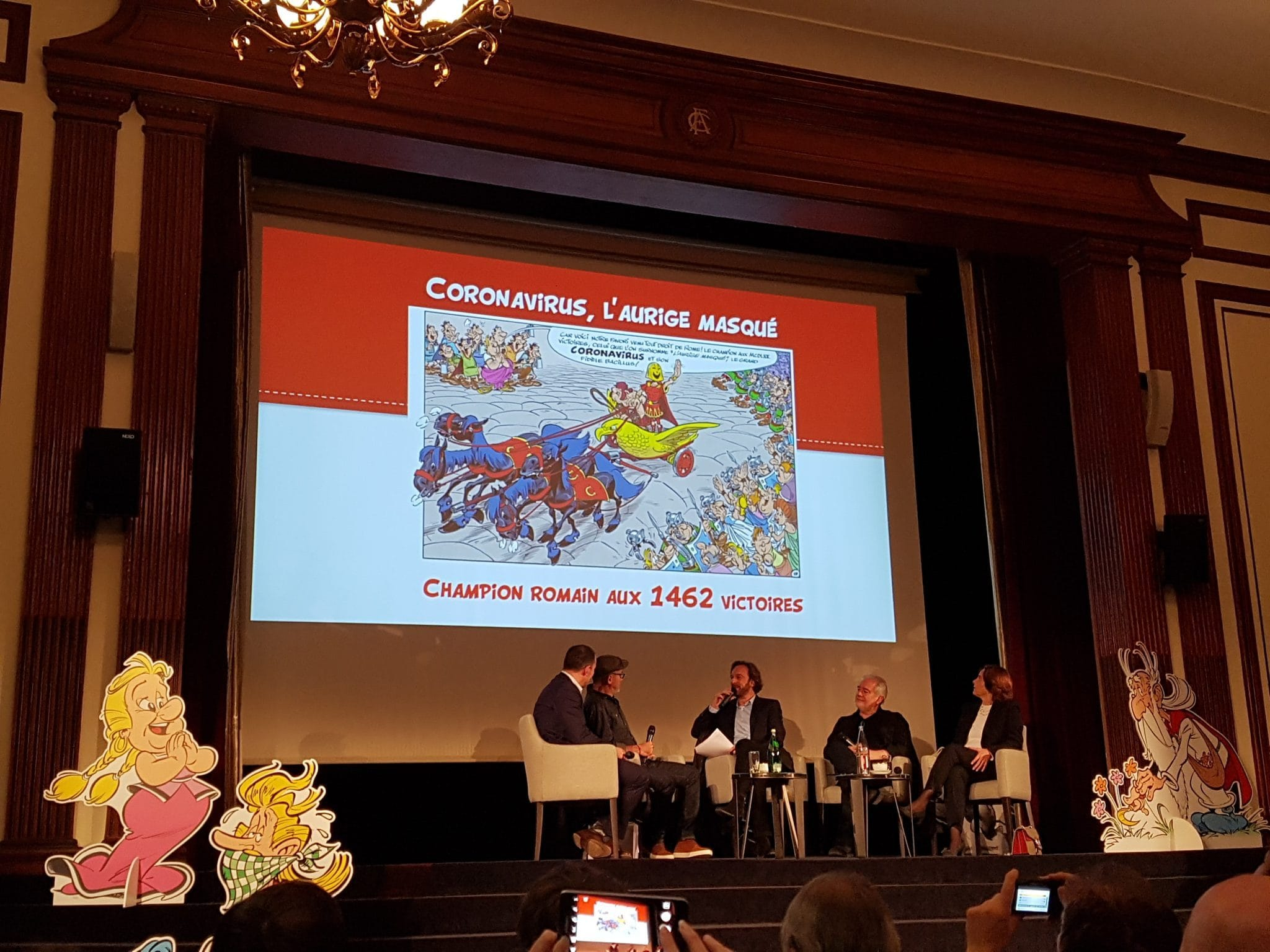 Astérix et la Transitalique image conférence de presse 02