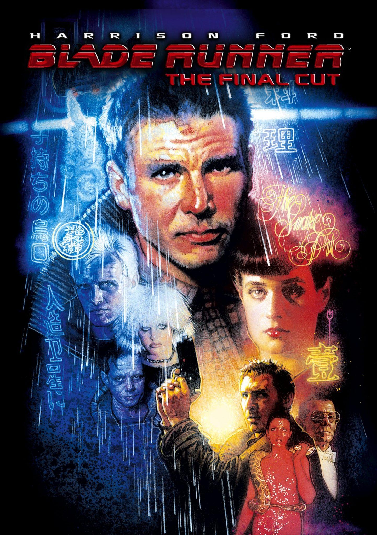 Blade Runner affiche the final cut