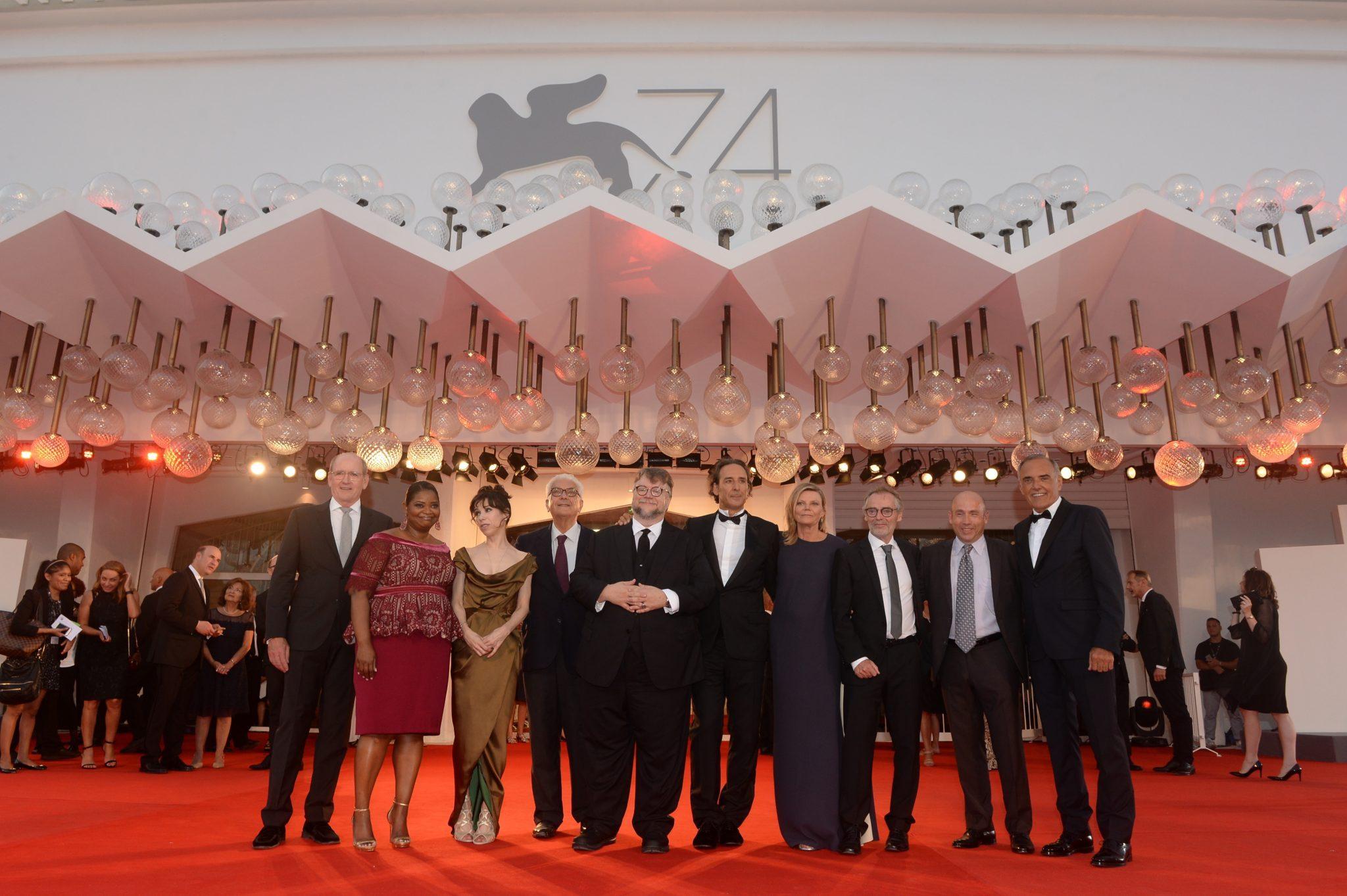 La Forme de l'eau Guillermo del Toro image Mostra de Venise 2017