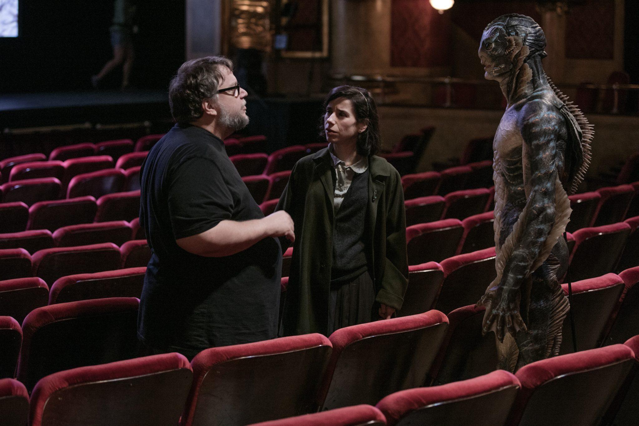 La Forme de l'eau Guillermo del Toro image tournage