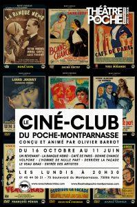 Le ciné-club du poche montparnasse affiche