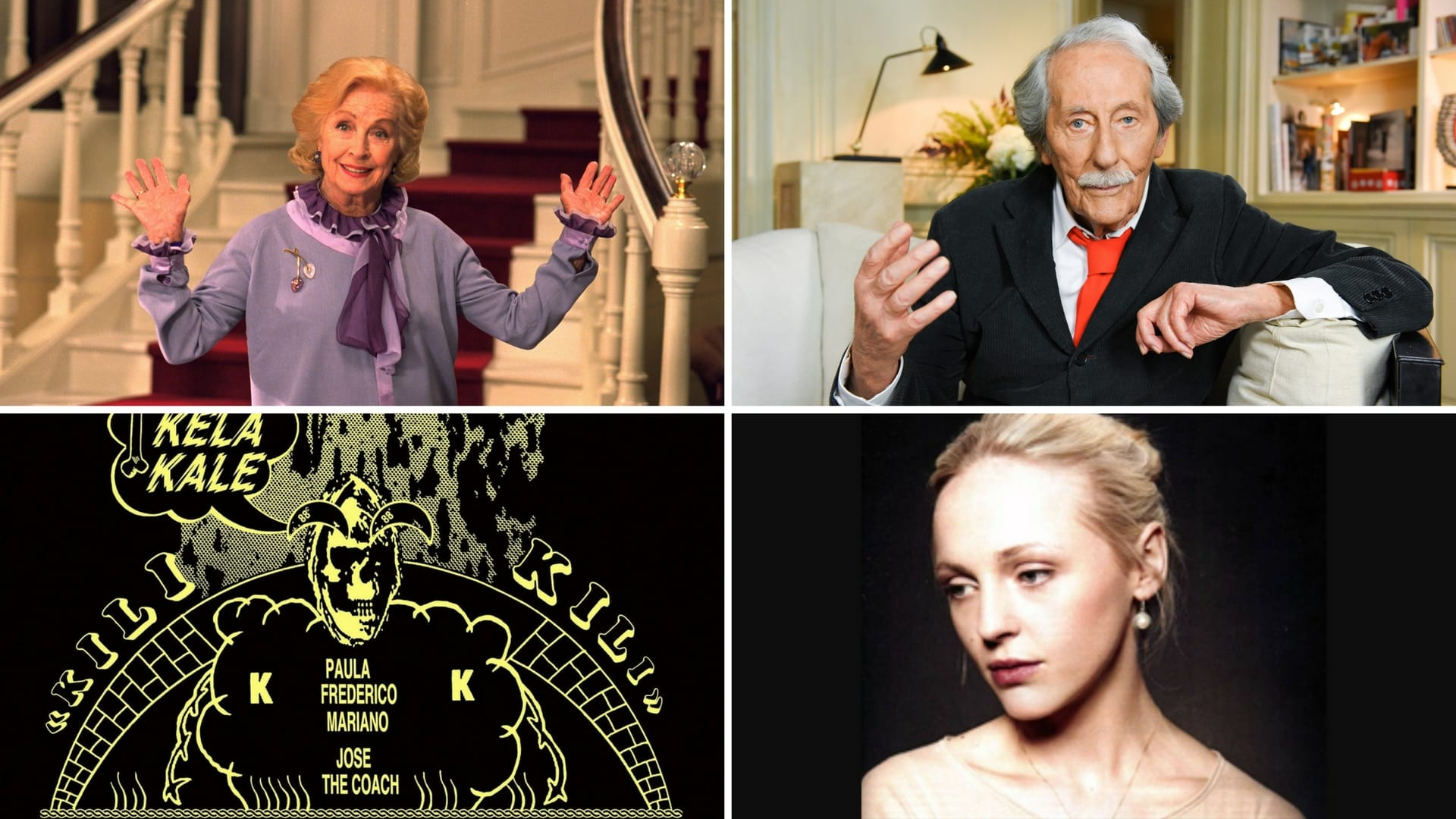 playlist musique 07 images Danielle Darrieux, Jean Rochefort, Black Bones, Laura Marling