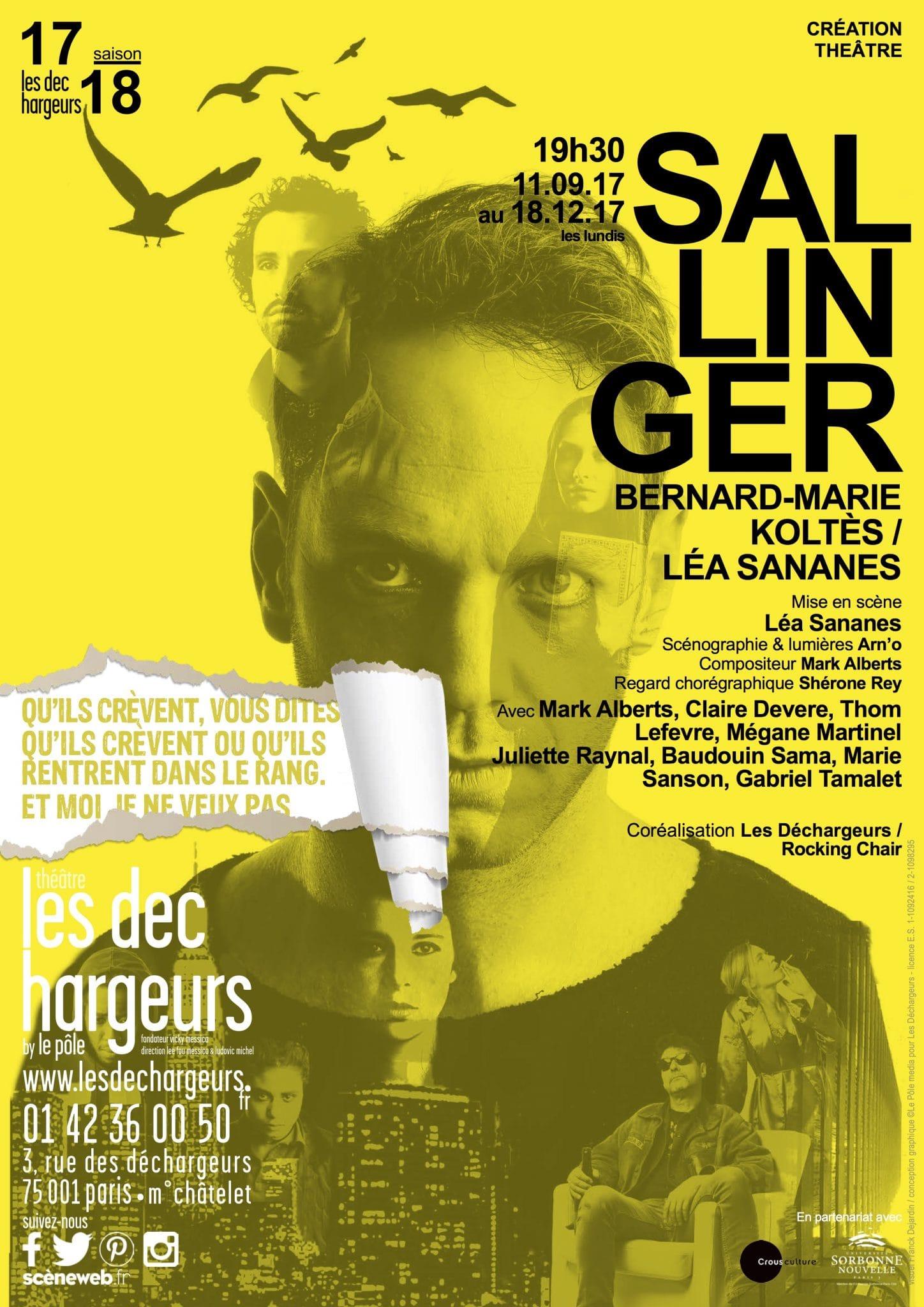 Sallinger Léa Sananes affiche