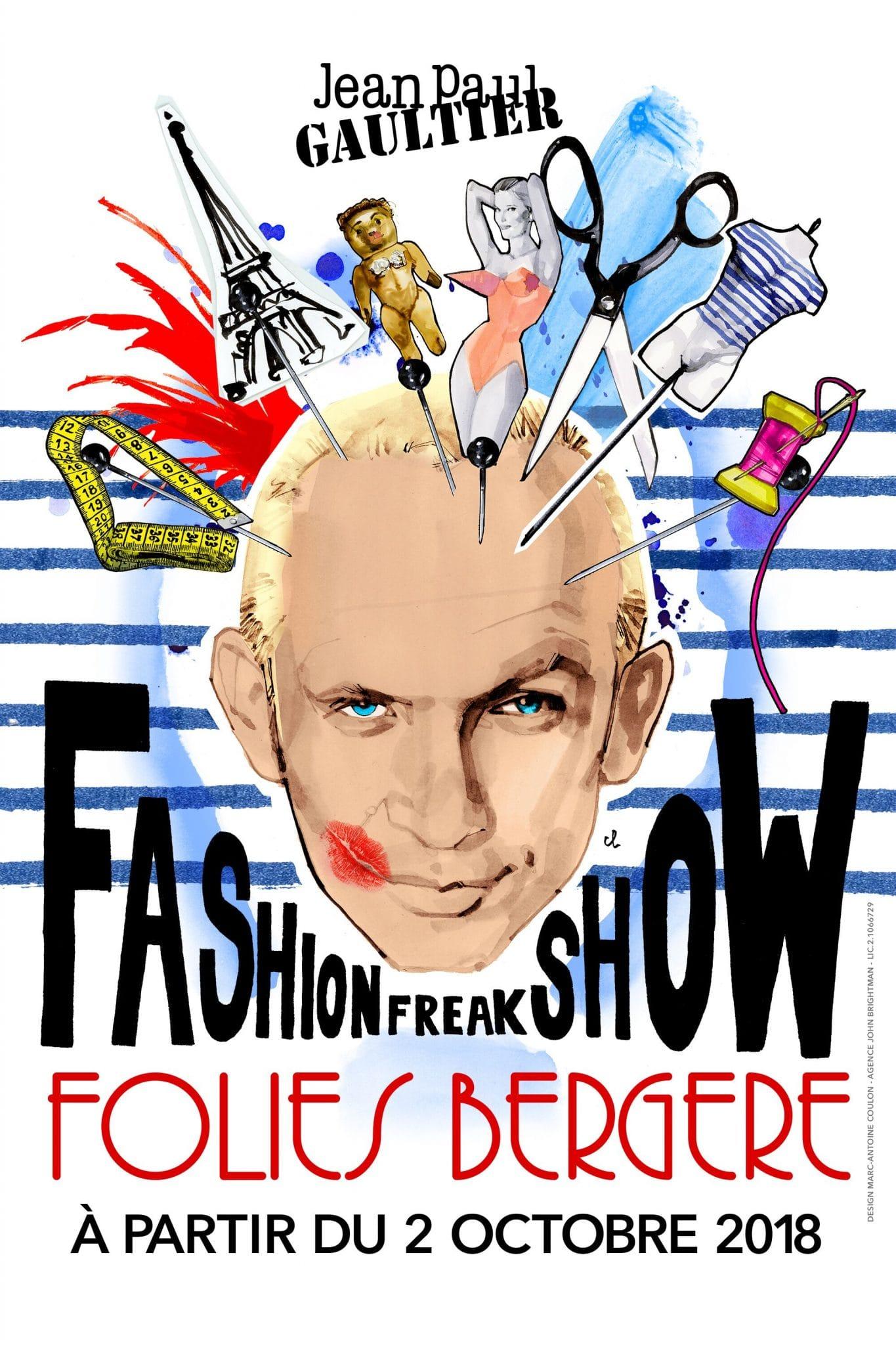 Affiche FASHION FREAK SHOW
