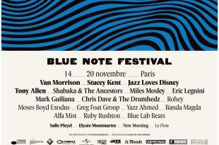 Blue Note Festival 2017 Affiche