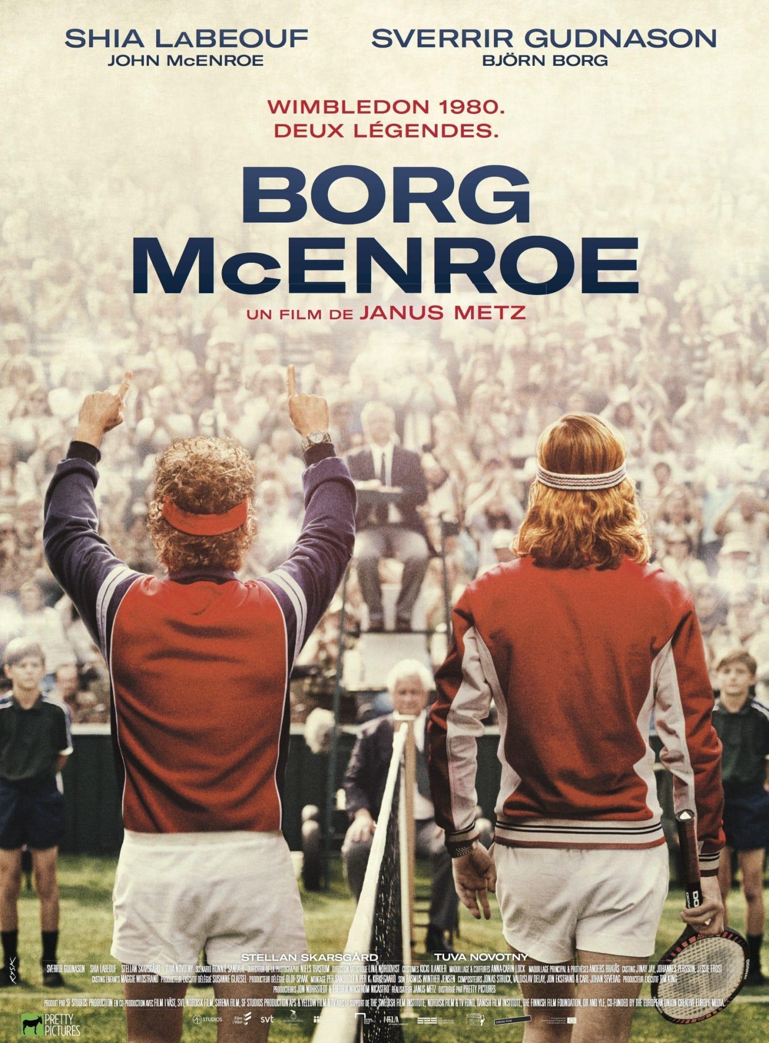 Borg/McEnroe affiche