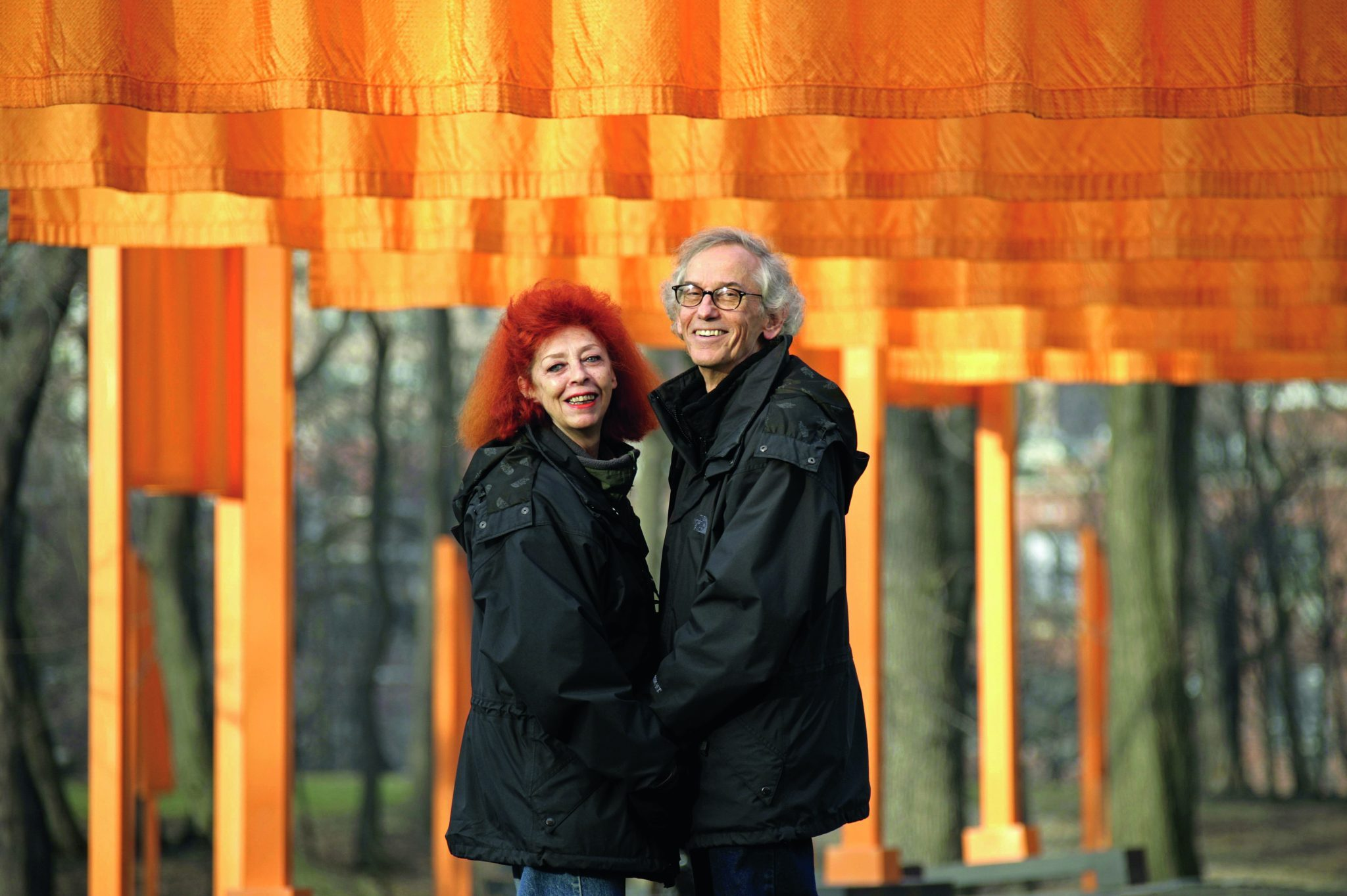 Christo and Jeanne Claude image NewYork 2005 (c) Wolgang Volz
