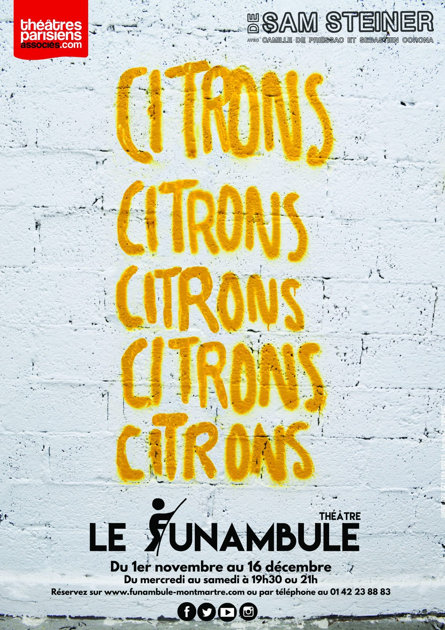Citrons Citrons Citrons Citrons Citrons Sébastien Corona et Richard Studer affiche
