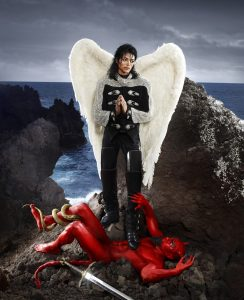 Exposition David LaChapelle. After the deluge — Bam Mons image Archangel Michael, And No Message Could Have Been Any Clearer, 2009