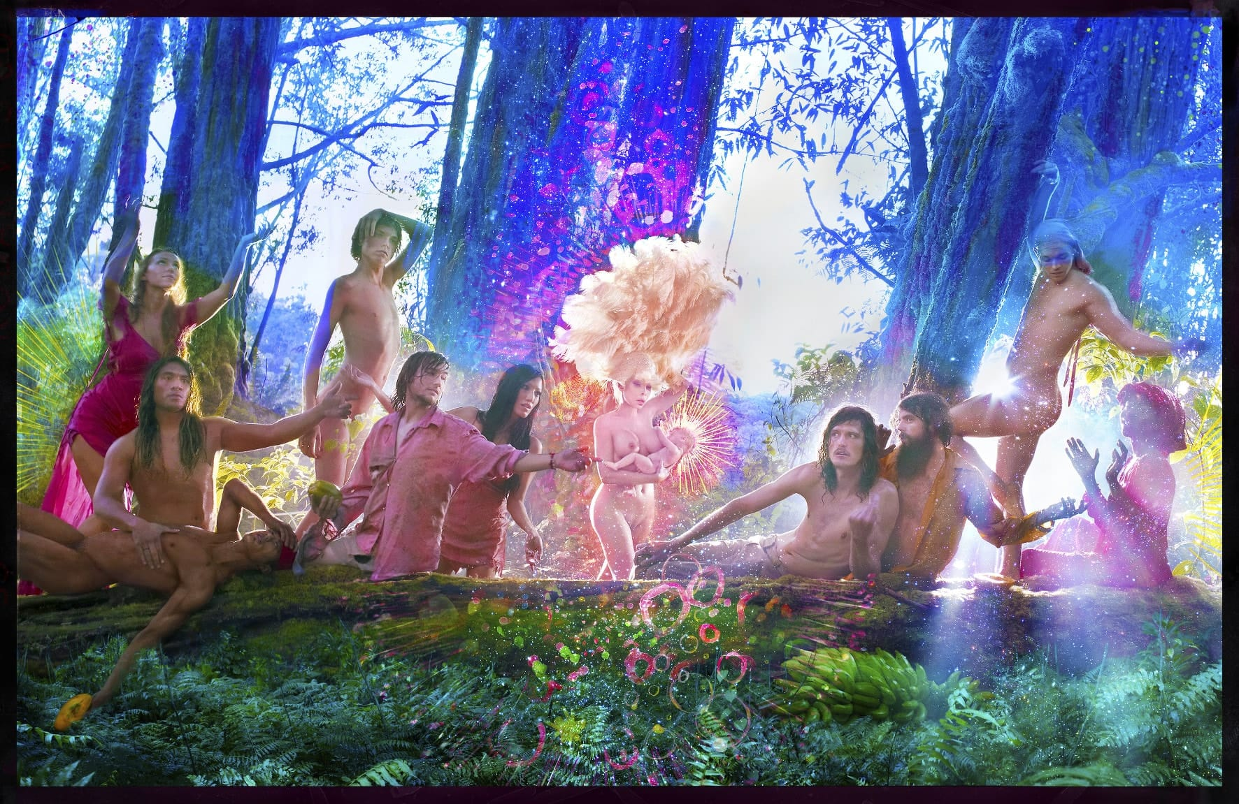 Exposition David LaChapelle. After the deluge — Bam Mons image The First Supper, 2017