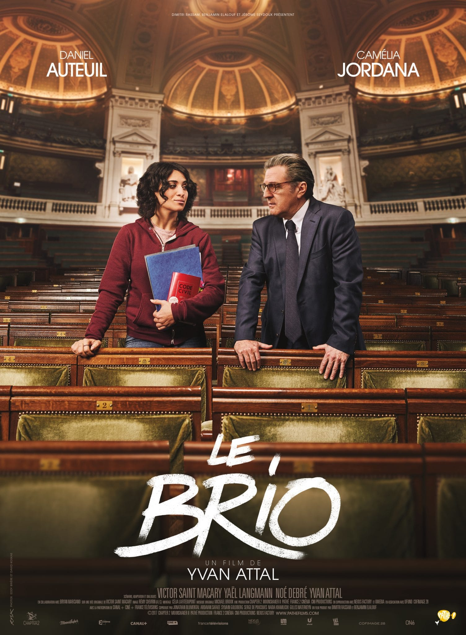 Le brio affiche film critique