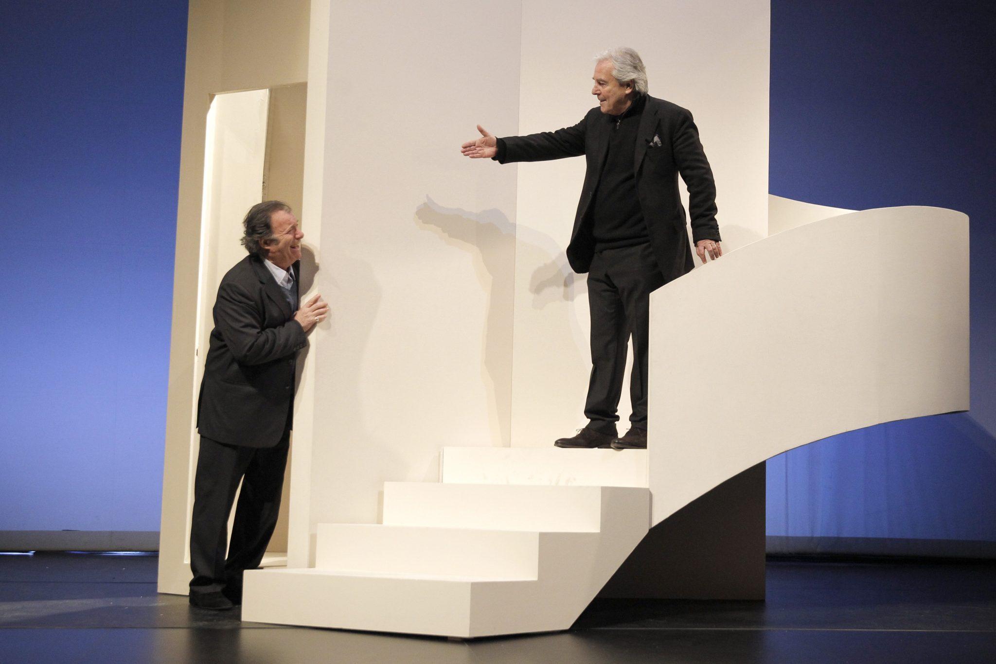 L'être ou pas par Charles Tordjman image Pierre Arditi et Daniel Russo 1