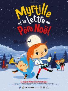 Myrtille et la lettre au Père Noël affiche