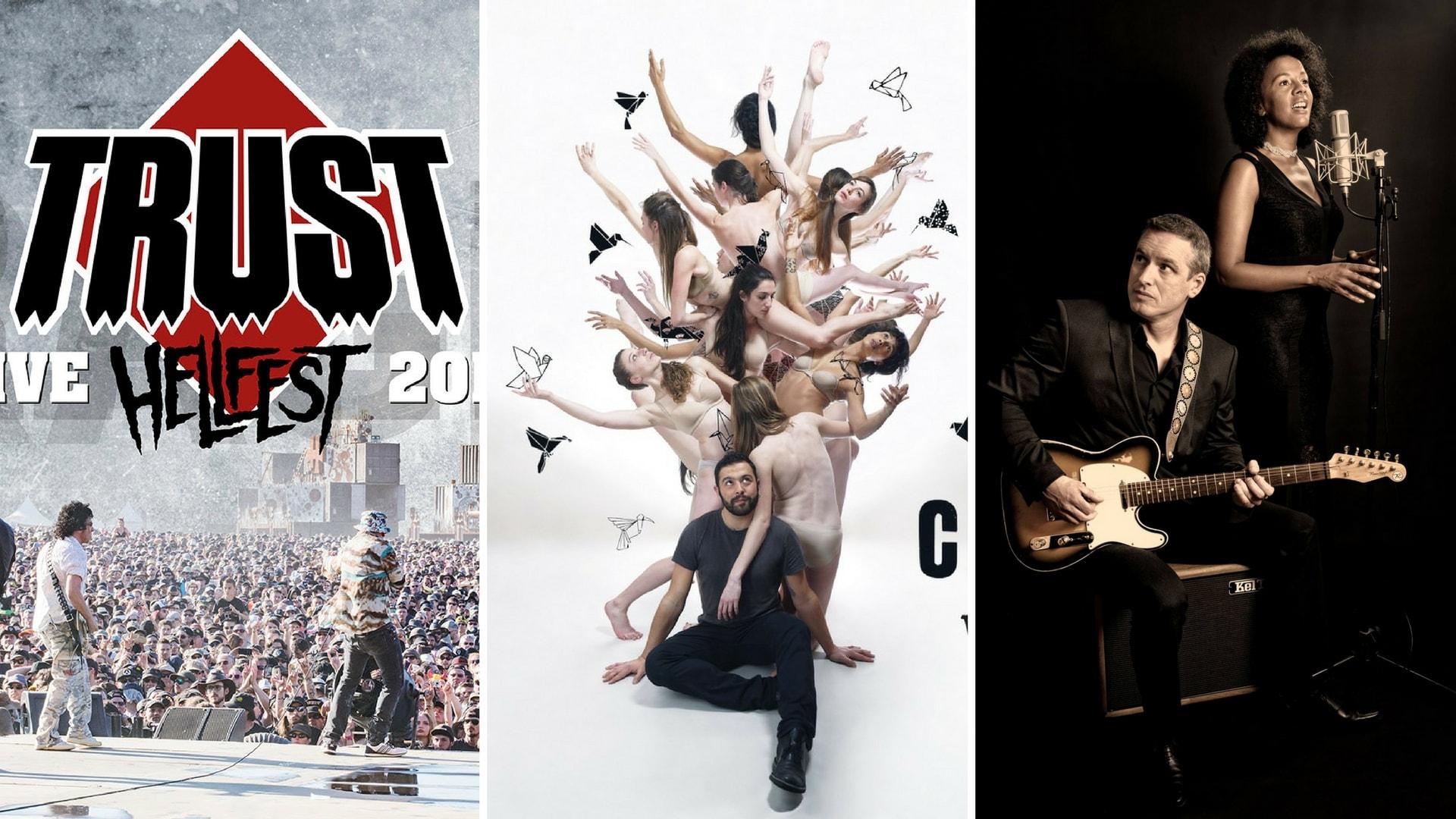 playlist musique 09 images Trust, Chouf, Yvan Guillevic et Anne Sorgues