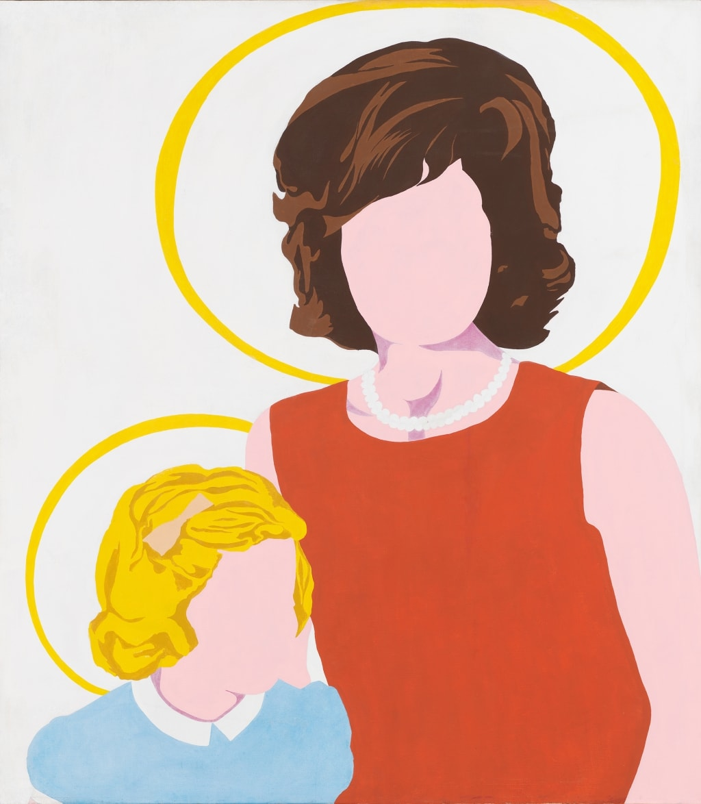 POP ART - ICONS THAT MATTER. COLLECTION DU WHITNEY MUSEUM OF AMERICAN ART image Allan D'Arcangelo Madonna and Child