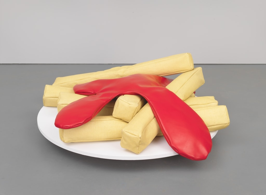 POP ART - ICONS THAT MATTER. COLLECTION DU WHITNEY MUSEUM OF AMERICAN ART image Claes Oldenburg French Fries and Ketchup